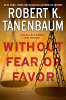 Cover art for Without Fear or Favor