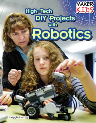 cover of High-Tech DIY Projects with Robotics