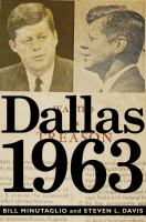 Cover art for Dallas 1963