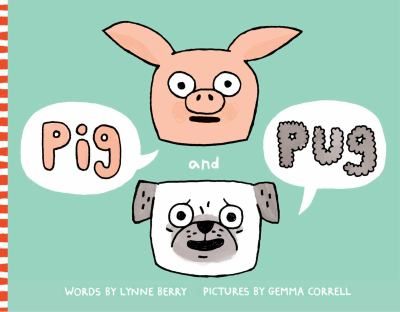 Book cover of Pig and Pug