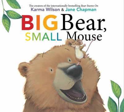 cover of Big Bear, Small Mouse