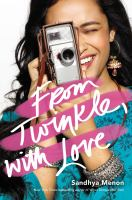 From Twinkle, With Love by Menon, Sandhya © 2018 (Added: 5/30/18)