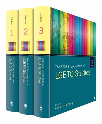 Book jacket for The Sage Encyclopedia of LGBTQ Studies