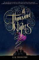 Cover art for A Thousand Nights