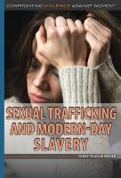 Sexual Trafficking And Modern-day Slavery by Meyer, Terry Teague © 2016 (Added: 6/22/16)
