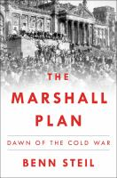 Cover art for The Marshall Plan