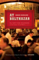 Cover art for At Balthazar