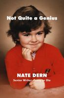 Cover art for Not Quite a Genius