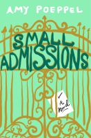 Cover art for Small Admissions