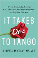 Cover art for It Takes One to Tango