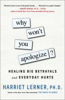 Cover art for Why Won't You Apologize?
