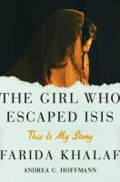 Cover art for The Girl Who Escaped Isis