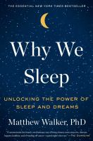 Cover art for Why We Sleep