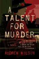 Cover art for A Talent for Murder
