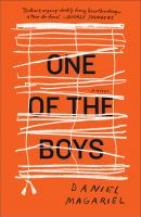 Cover art for One of the Boys