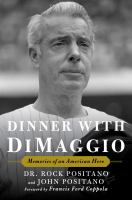 Cover art for Dinner with DiMaggio