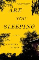 Cover art for Are You Sleeping