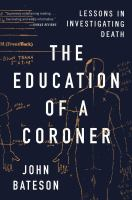 Cover art for The Education of a Coroner