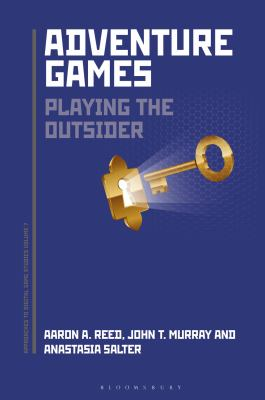 Cover Art - Adventure Games Playing the Outsider .