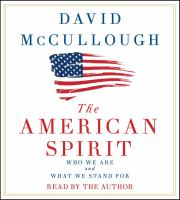 Cover art for The American Spirit