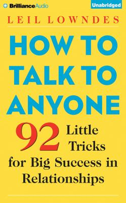 cover of How to Talk to Anyone