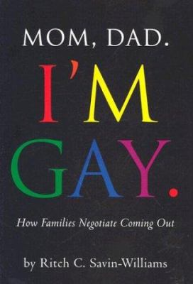 Book jacket for Mom, Dad - I'm Gay