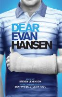 Book cover of Dear Evan Hansen