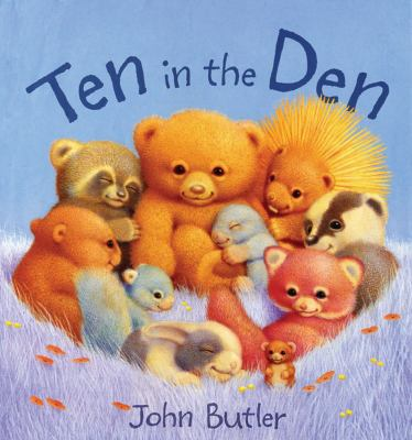 Cover image for Ten in the den