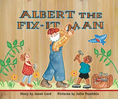cover of Albert the Fix-It Man