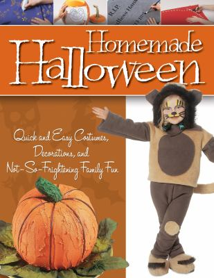 Cover image for Homemade Halloween.