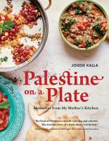 Cover art for Palestine on a Plate