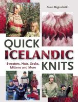 Quick Icelandic Knits by Gunn Birgirsdottir © 2014 (Added: 1/14/15)