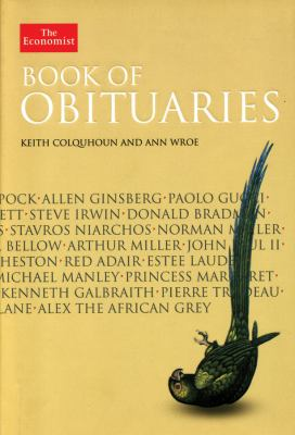 Image of book cover for Book of Obituaries