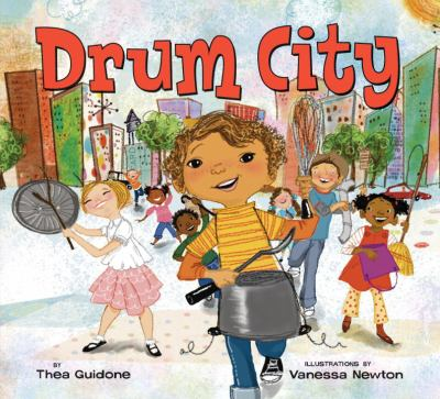 Cover image for Drum city