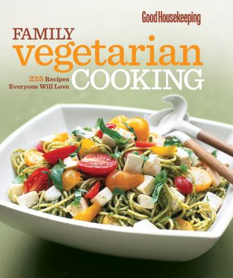 Cover image for Family vegetarian cookbook