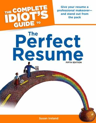 cover of The Complete Idiot's Guide to the Perfect Resume