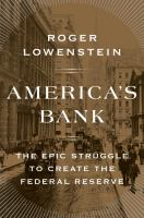 Cover of America's Bank