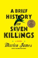 Cover art for A Brief History of Seven Killings