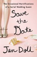 Cover art for Save the Date