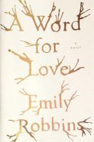 Cover art for A Word for Love