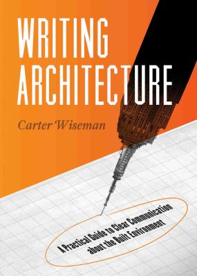 Book cover of Writing Architecture