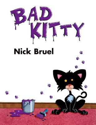 Cover image of Bad Kitty by Nick Bruel