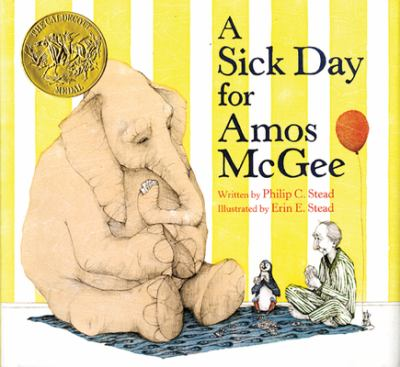 Cover image for A sick day for Amos McGee 