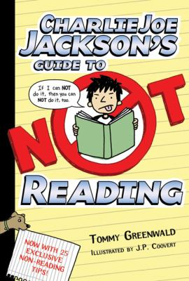 Cover image for Charlie Joe Jackson's guide to not reading 