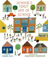 Cover art for School's First Day of School