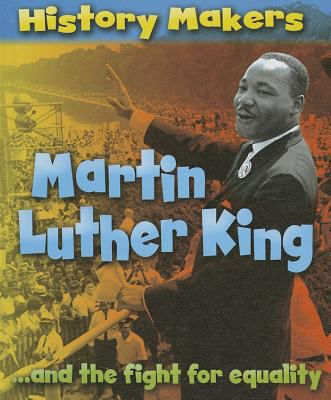 Cover image for Martin Luther King-- and the fight for equality