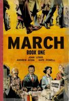 Cover art for March Book One