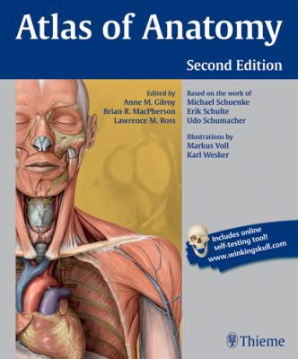 The cover of Atlas of Anatomy