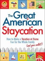 cover of The Great American Staycation by Matt Wixon