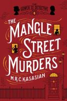 Book cover: The Mangle Street Murders